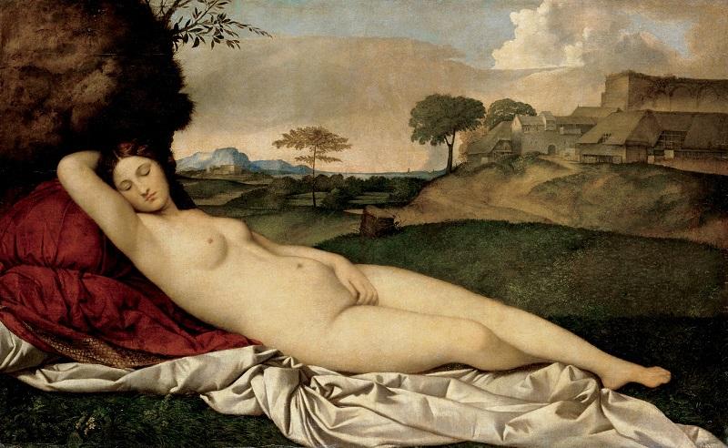 """""""La Venere Dormiente"""" di Giorgione"""