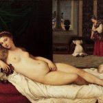 """""""La Venere di Urbino"""" di Tiziano Vecellio"""
