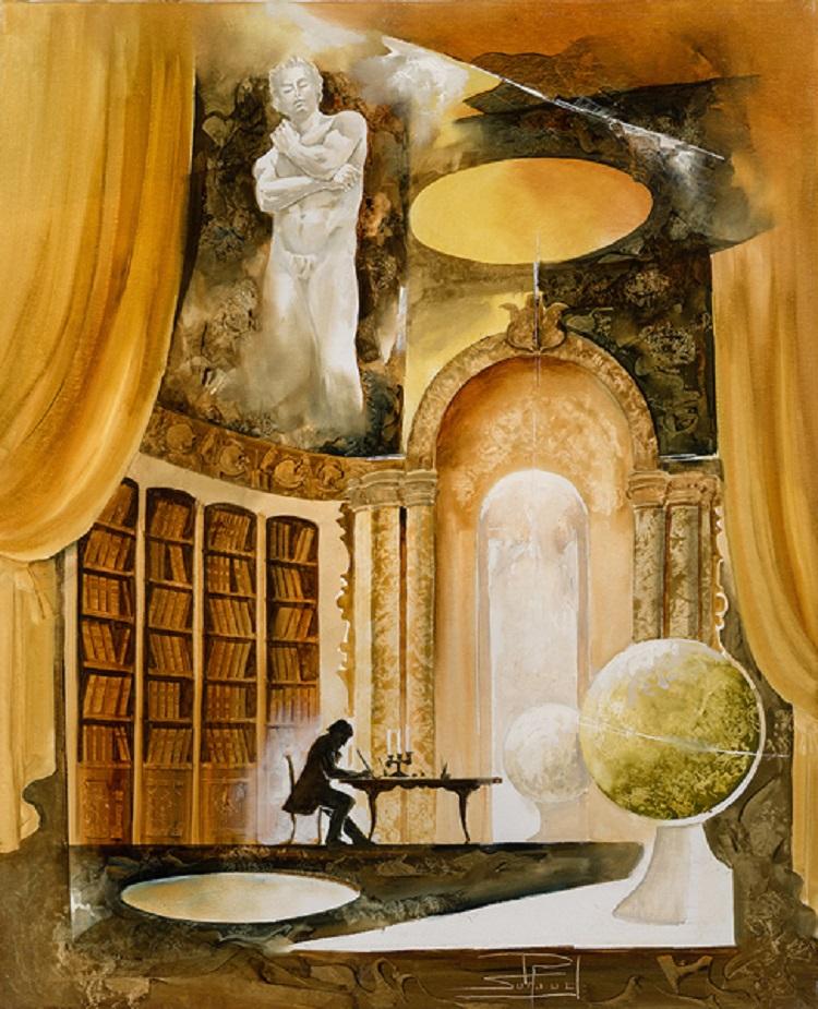 La bibliotheque di Roger Suraud