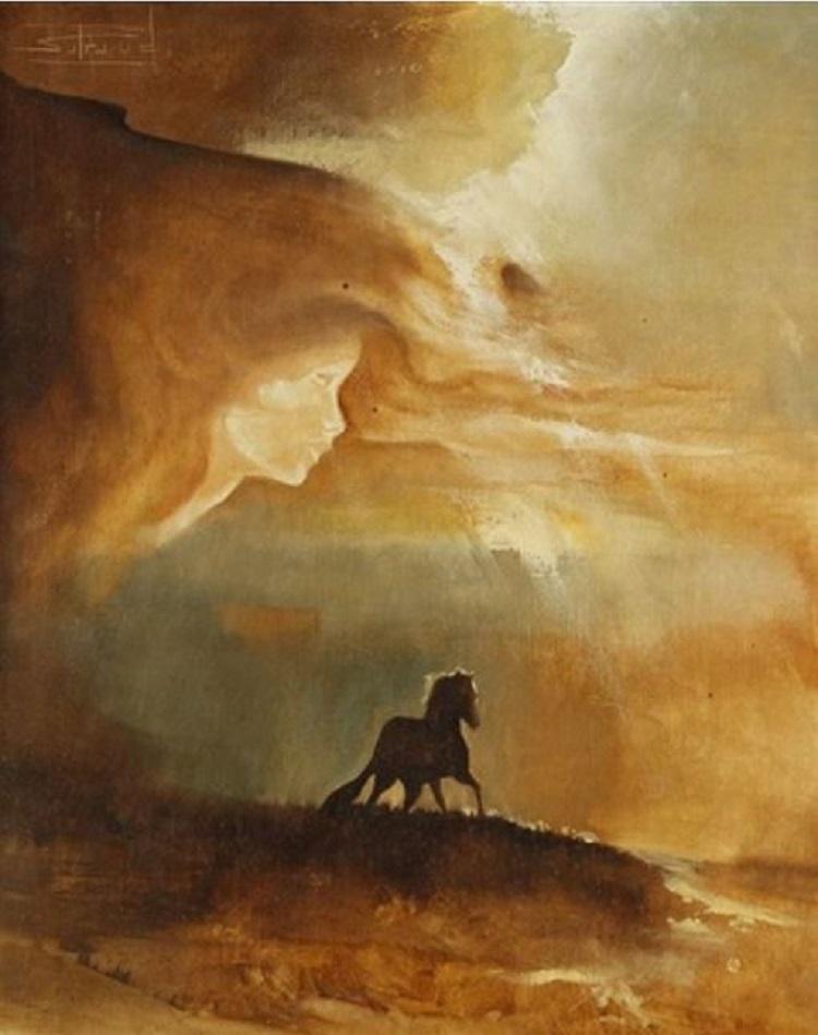 Le cheval di Roger Suraud