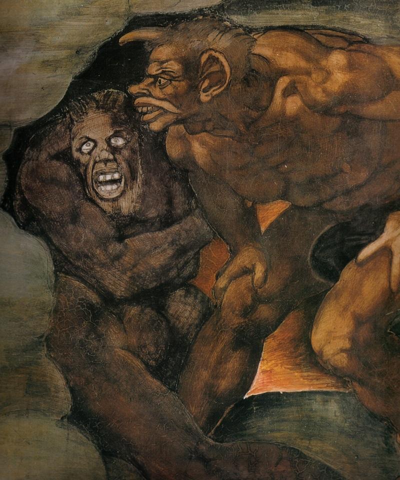 Il Giudizio Universale di Michelangelo Buonarroti. Dettagli