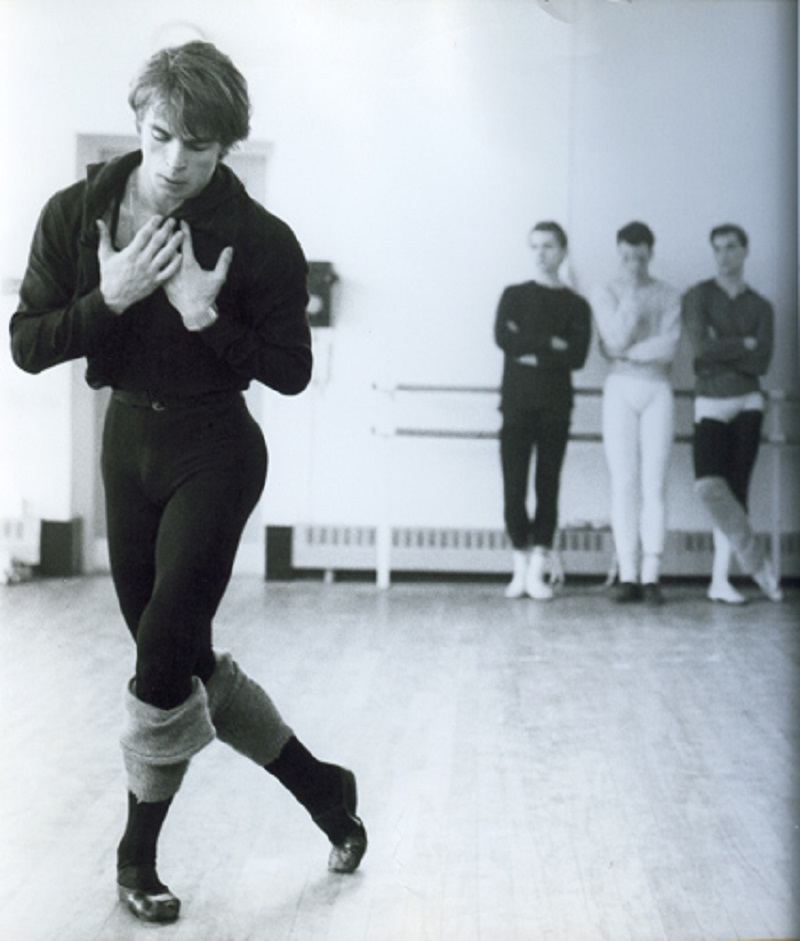 Rudolf Nureyev ballerino russo