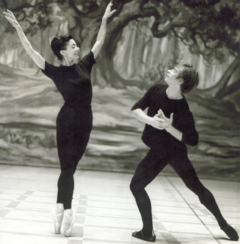 Rudolf Nureyev e Margot Fonteyn