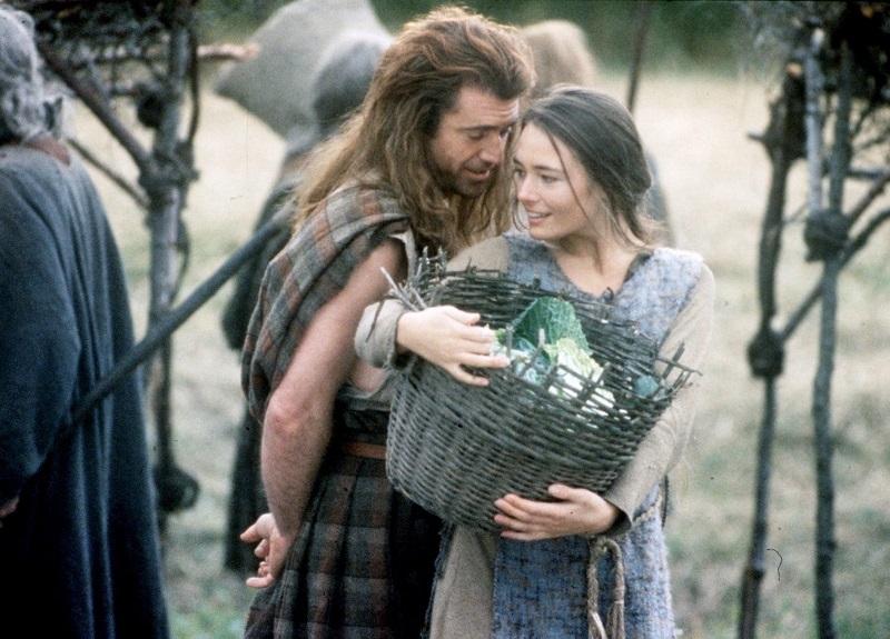 Braveheart di Mel Gibson
