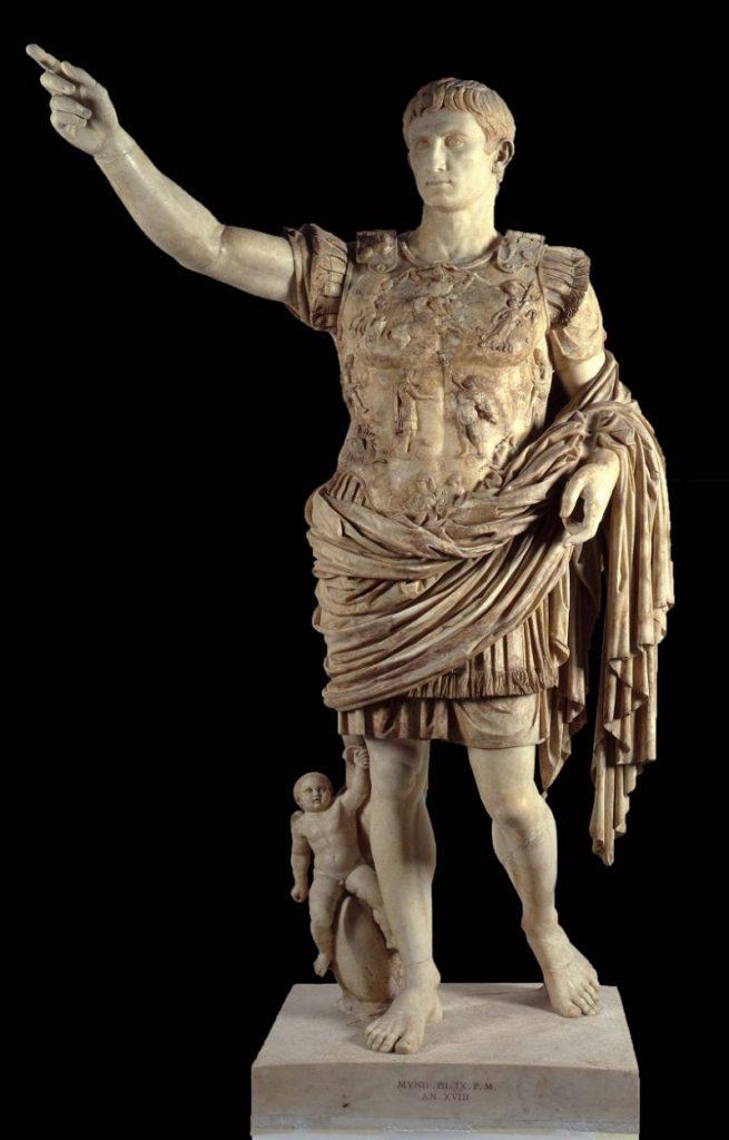 Augusto di Prima Porta. Scultura romana politica e apologetica