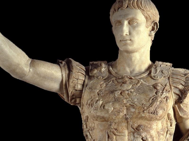 Volto dell'imperatore Augusto