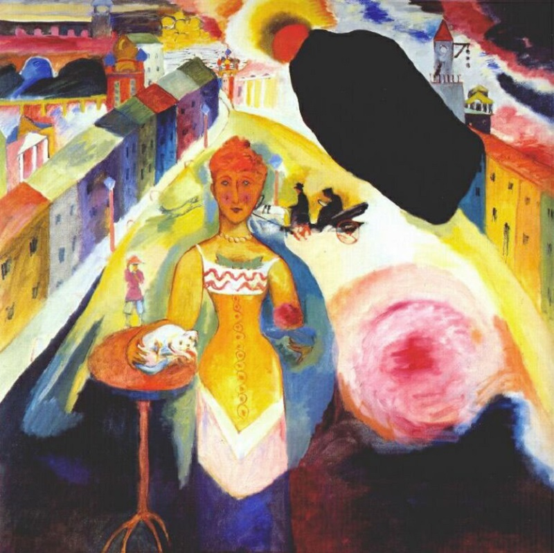 "Arte russa delle Avanguardie. ""Dama a Mosca"" di Vasilij Kandinskij"
