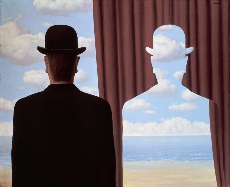 """""""Decalcomania"""" di René Magritte"""