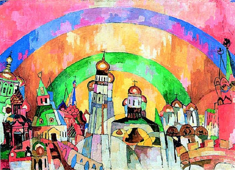 """Arte russa delle Avanguardie.""""Firmamento"""" di Aristarch Lentulov"""