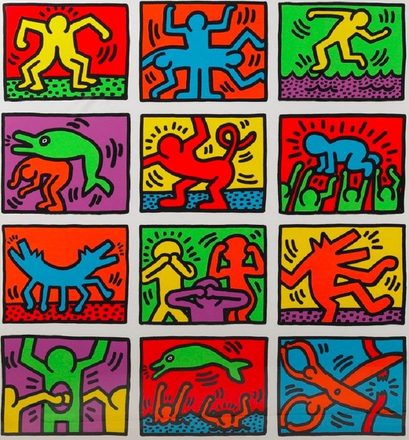 Gli omini di Keith Haring