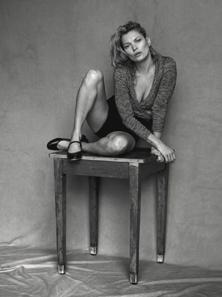 Kate Moss di Peter Lindbergh