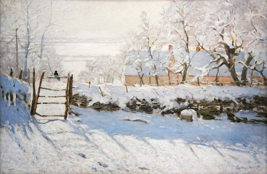 """""""La gazza"""" di Claude Monet"""