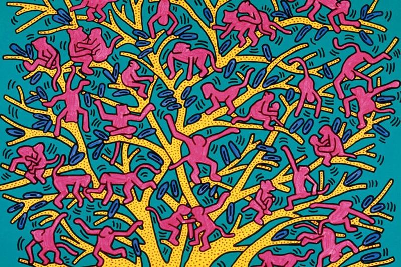 L'albero della vita di Keith Haring