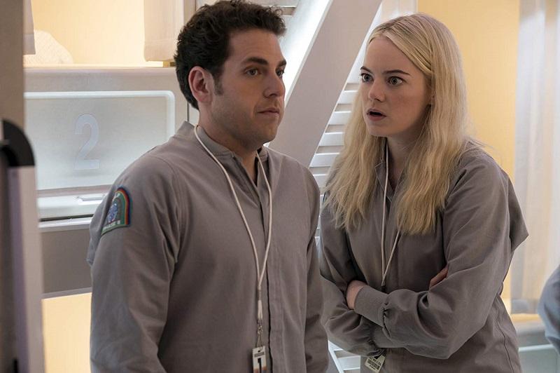 Maniac miniserie Netflix con Emma Stone e Jonah Hill.