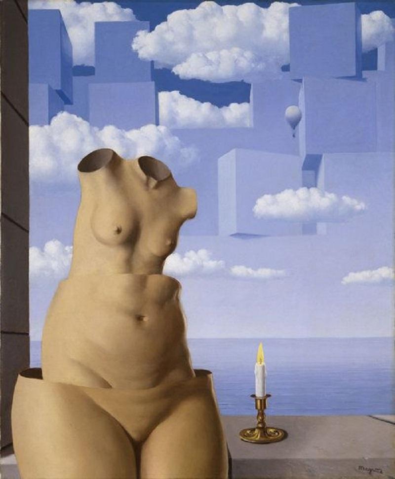 """""""Manie di grandezza II"""" di René Magritte"""
