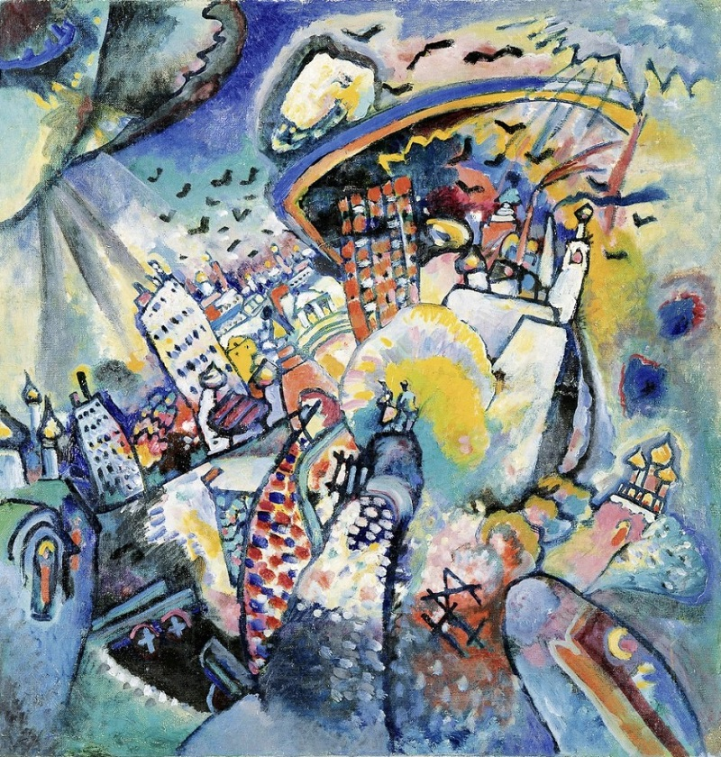 "La Mosca dei pittori russi. ""Mosca 1"" di Vasilij Kandinskij"