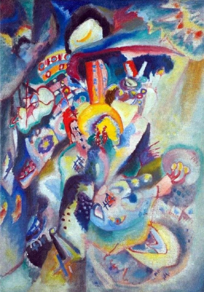 "Arte russa delle Avanguardie. ""Mosca 2"" di Vasilij Kandinskij"