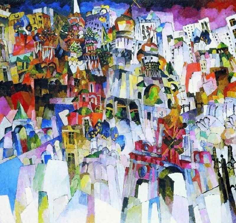 """La Mosca dei pittori russi. """"Mosca-Mosca"""" di Aristarch Lentulov"""