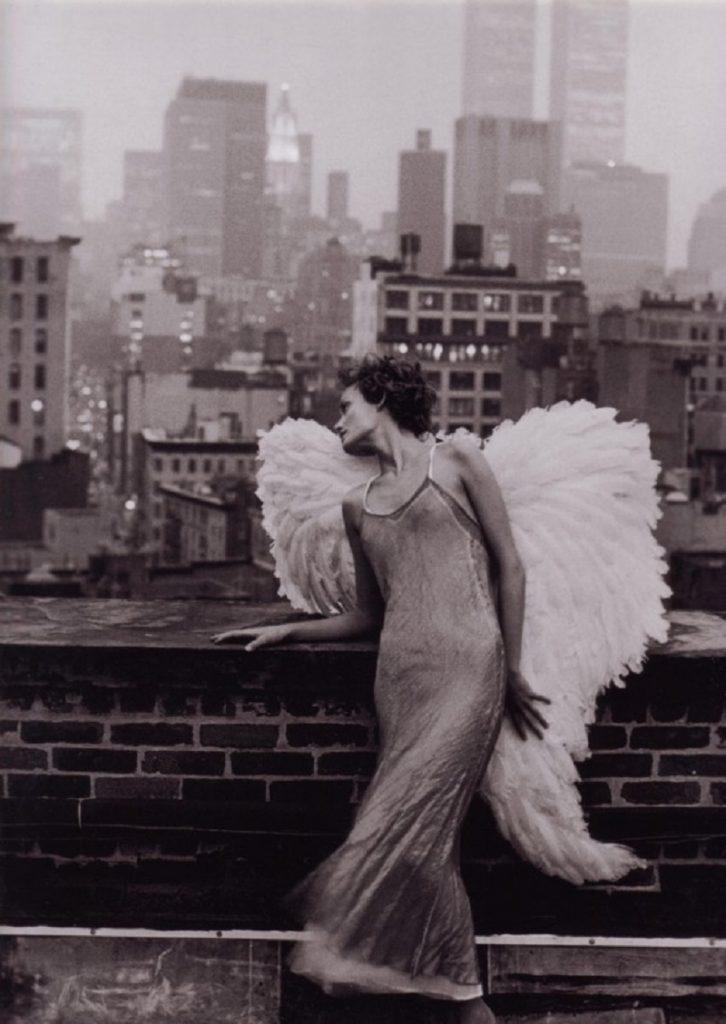 Amber Valletta di Peter Lindbergh