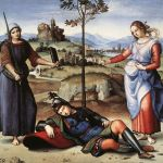 Il sogno del cavaliere di Raffaello Sanzio